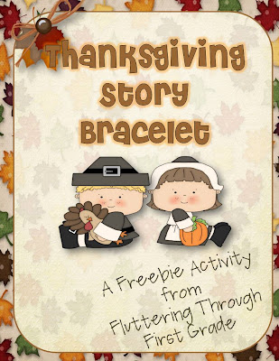 http://www.teacherspayteachers.com/Product/Story-of-Thanksgiving-Bracelet-417876