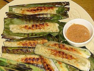 Makanan Khas Indonesia Menggunakan Bumbu Kacang - otak-otak