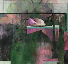 """""""03-14-09"""" mixed media w/ collage"""