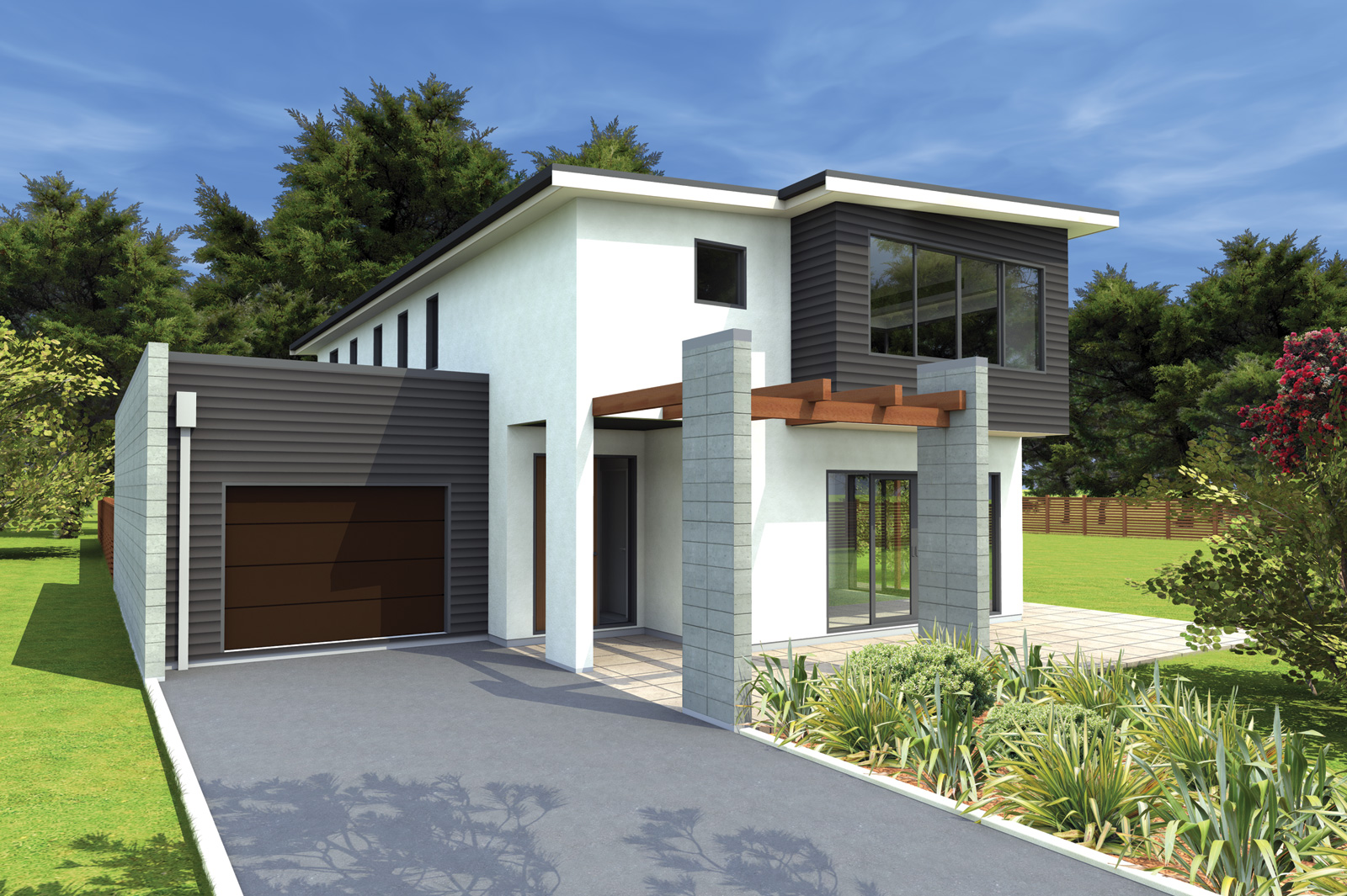 New home designs latest new modern homes designs new zealand Design home modern