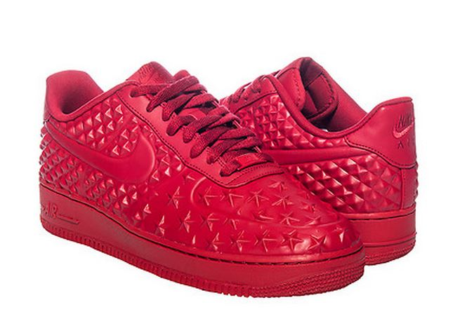 nike air force 1 all red