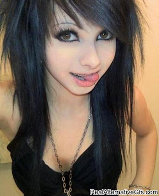 Blonde Emo Hairstyles For Girls
