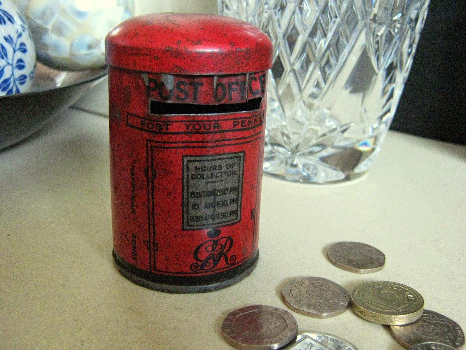 Vintage Postbox Tin
