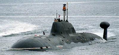 Russian Nuclear Akula submarine