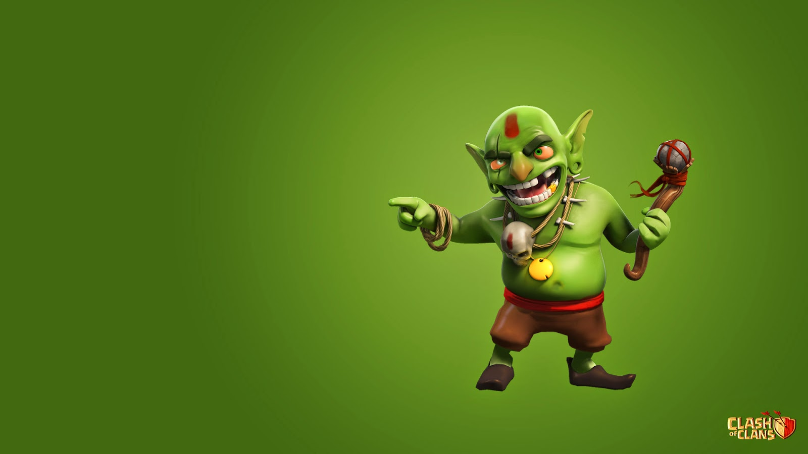 Goblin – Clash of Clans HD Wallpaper