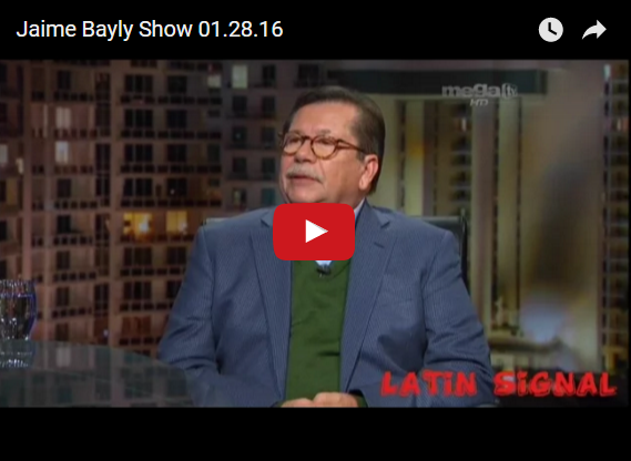 Bayly entrevista a Leopoldo Castillo - 28/01/2016