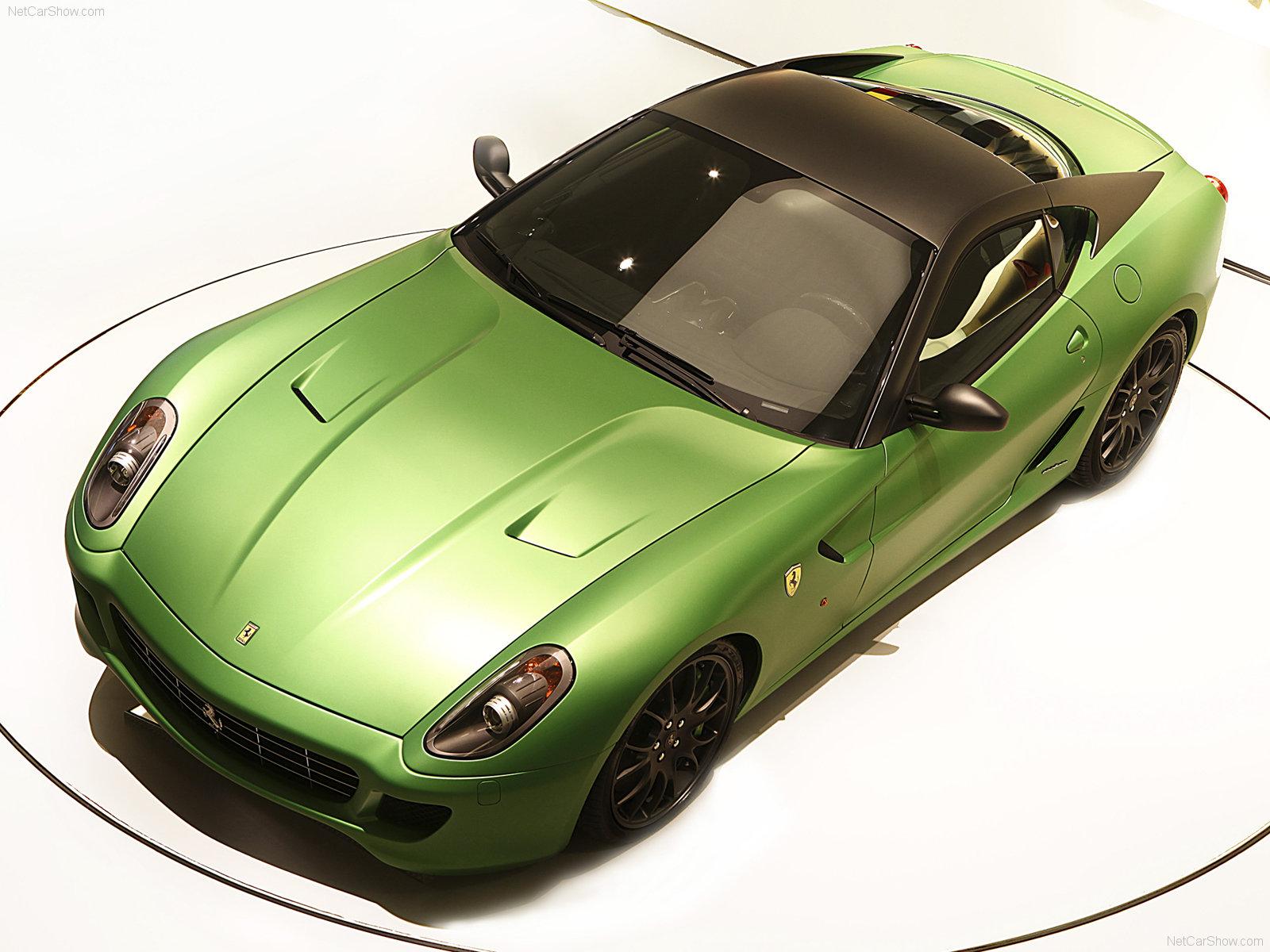 Hình ảnh siêu xe Ferrari 599 GTB HY-KERS Concept 2010 & nội ngoại thất