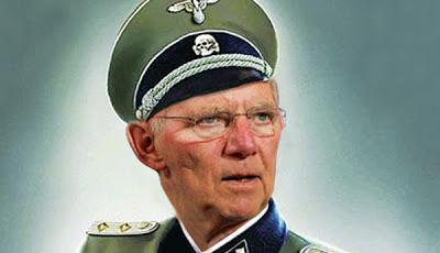 Λέμε ΟΧΙ στον νεοναζιστή Σόιμπλε. ΟΧΙ και στα γερμανικά προϊόντα!