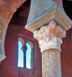 Capitel en San Miguel de la Escalada, León