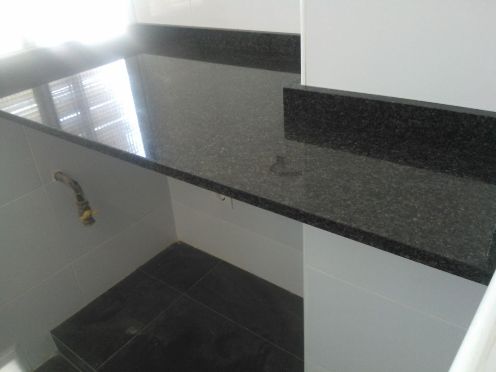 Marmoles vedat s l u montaje encimera granito negro for Colores de granito negro