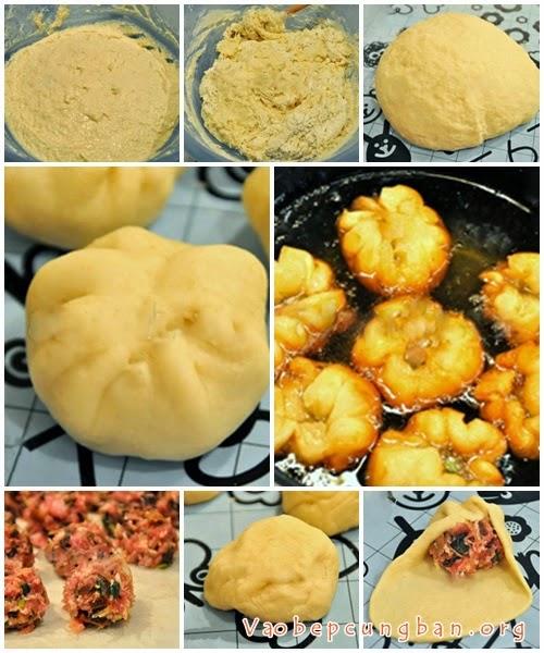 Cách làm bánh bao chiên 1
