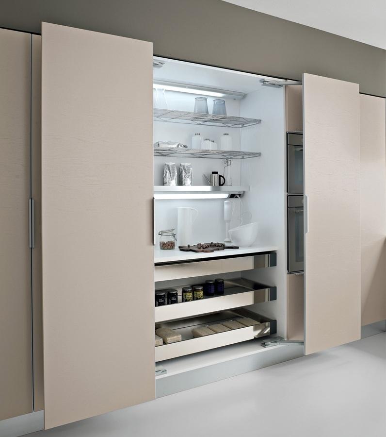 Cocinas que se integran a cualquier ambiente cocinas con for Despensas de cocina
