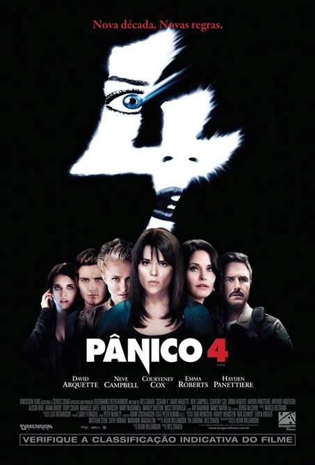 filme pânico 4 poster cartaz