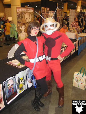 Wizard World New Orleans Comic-Con 2012 - Wasp & Ant-Man