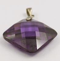 purple cubic zirconia stones