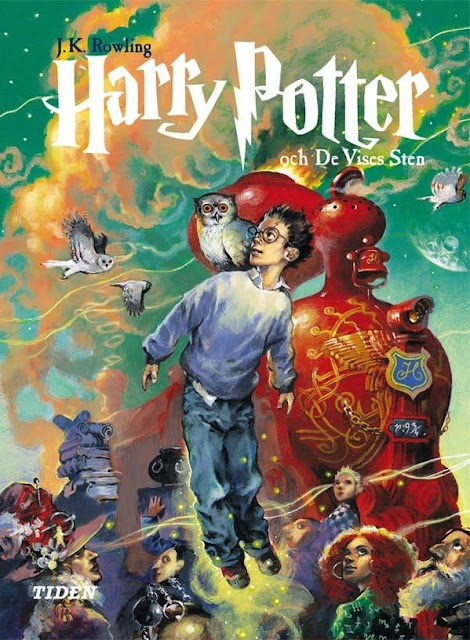 Harry Potter Book Covers Swedish ~ L histoire d une fille swedish harry potter covers