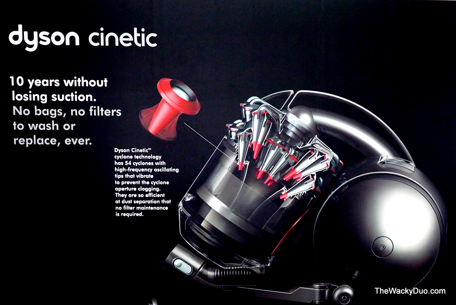 dyson dc52 cinetic vacuum say goodbye to bags and filters - Dyson Cinetic