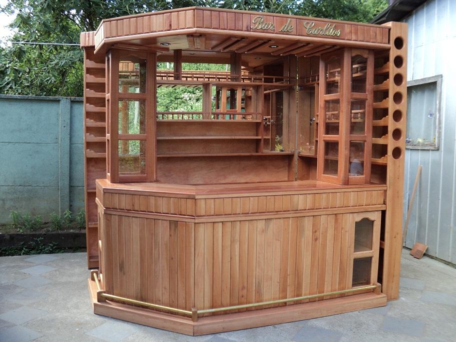 Muebles j m valdivia bar esquinero personalizado - Rinconeras de madera ...