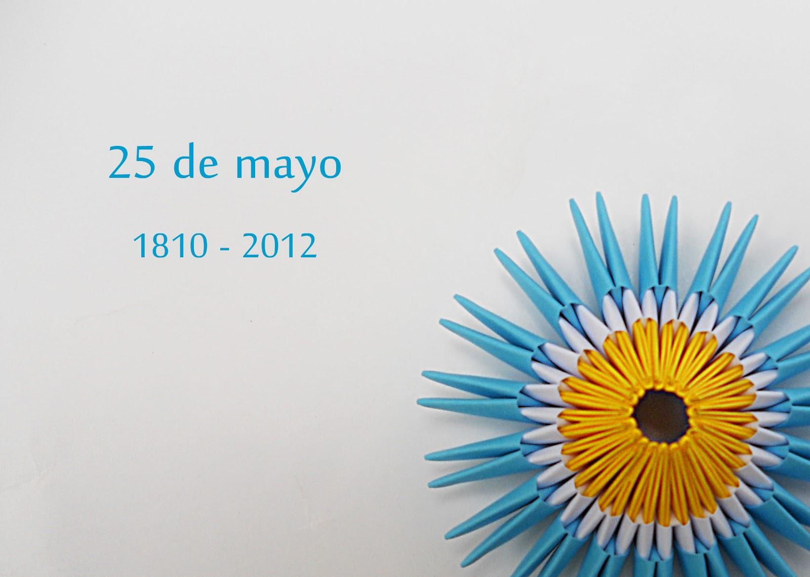 Mas origami mayo 2012 for Papel de pared argentina