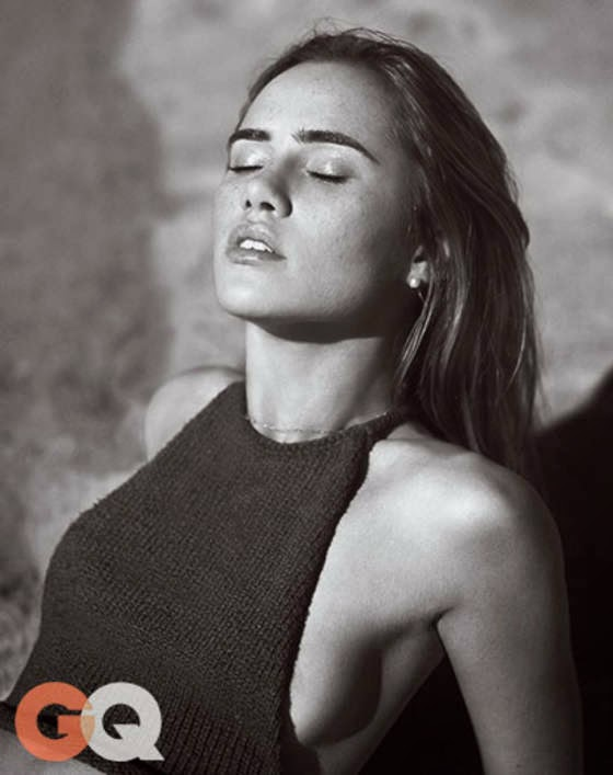 Suki Waterhouse – GQ Magazine (April 2015)