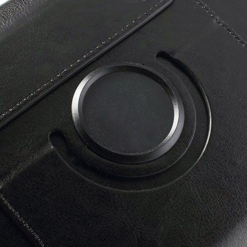 360 Degree Rotating Crazy Horse Leather Stand Case for Acer Iconia Tab A1-810 7.9-inch - Black