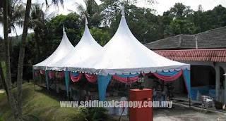 Memilih Pakej untuk Perniagaan Kanopi / Khemah