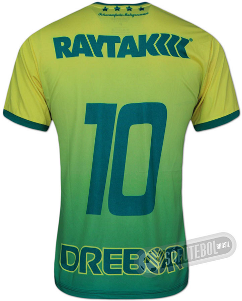 Cuiabá também adere ao degradê em sua terceira camisa - Show de Camisas 2e284ec9dbe6a