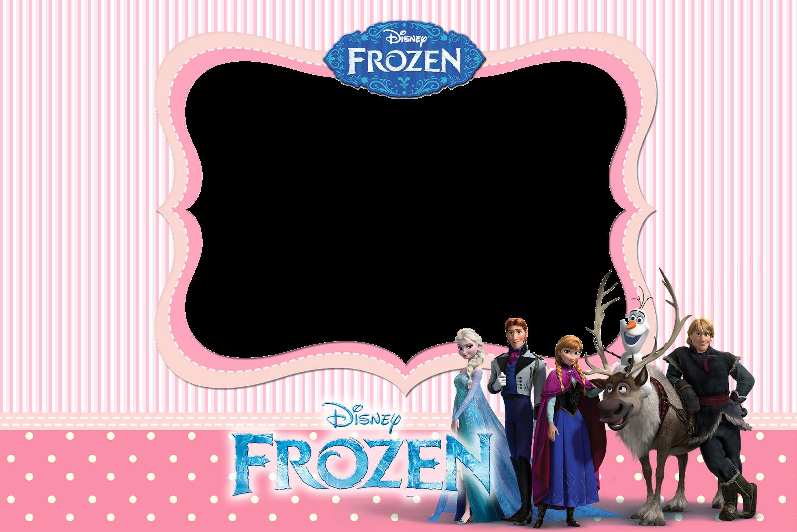 Marcos y Bordes para fotografias: Marcos gratis para fotos de Frozen ...