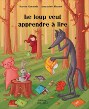 Le loup veut apprendre  lire