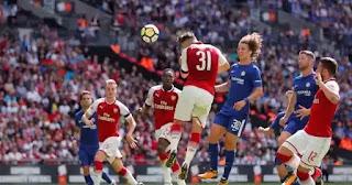 Arsenal Beat Chelsea On Penalties To Win.