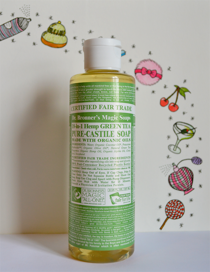 tattoo aftercare tips with dr bronners organic liquid