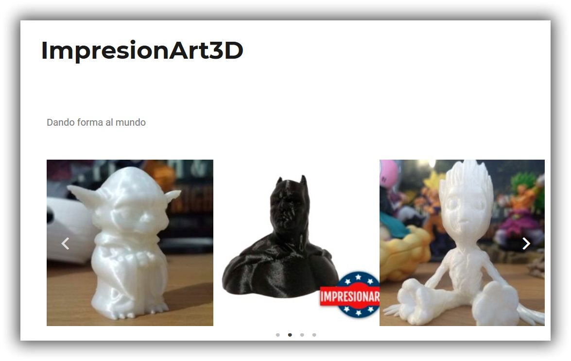 IMPRESIONART3D LA MEJOR IMPRESIÓN EN 3D