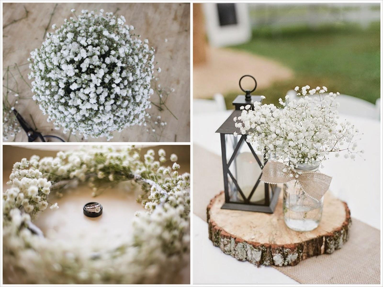 Diy Decoracion Boda ~   detalles de boda DIY decoraci?n de boda con flores de paniculata