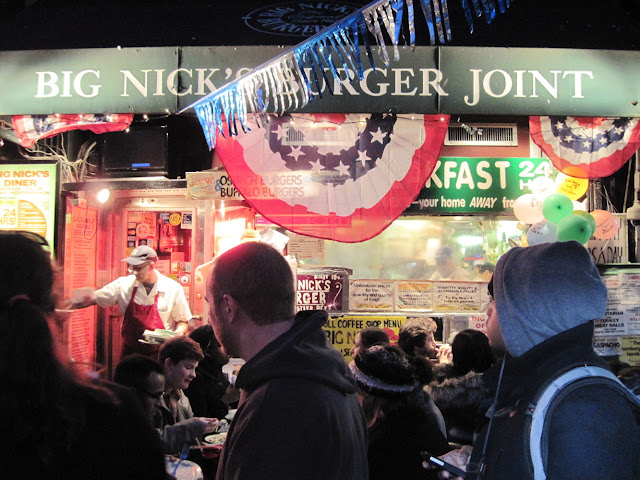 Big Nick's Burger Joint is a great place for some casual dining in New York City.