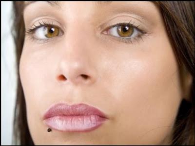 Cuidados de Piercing no Lábio Inferior
