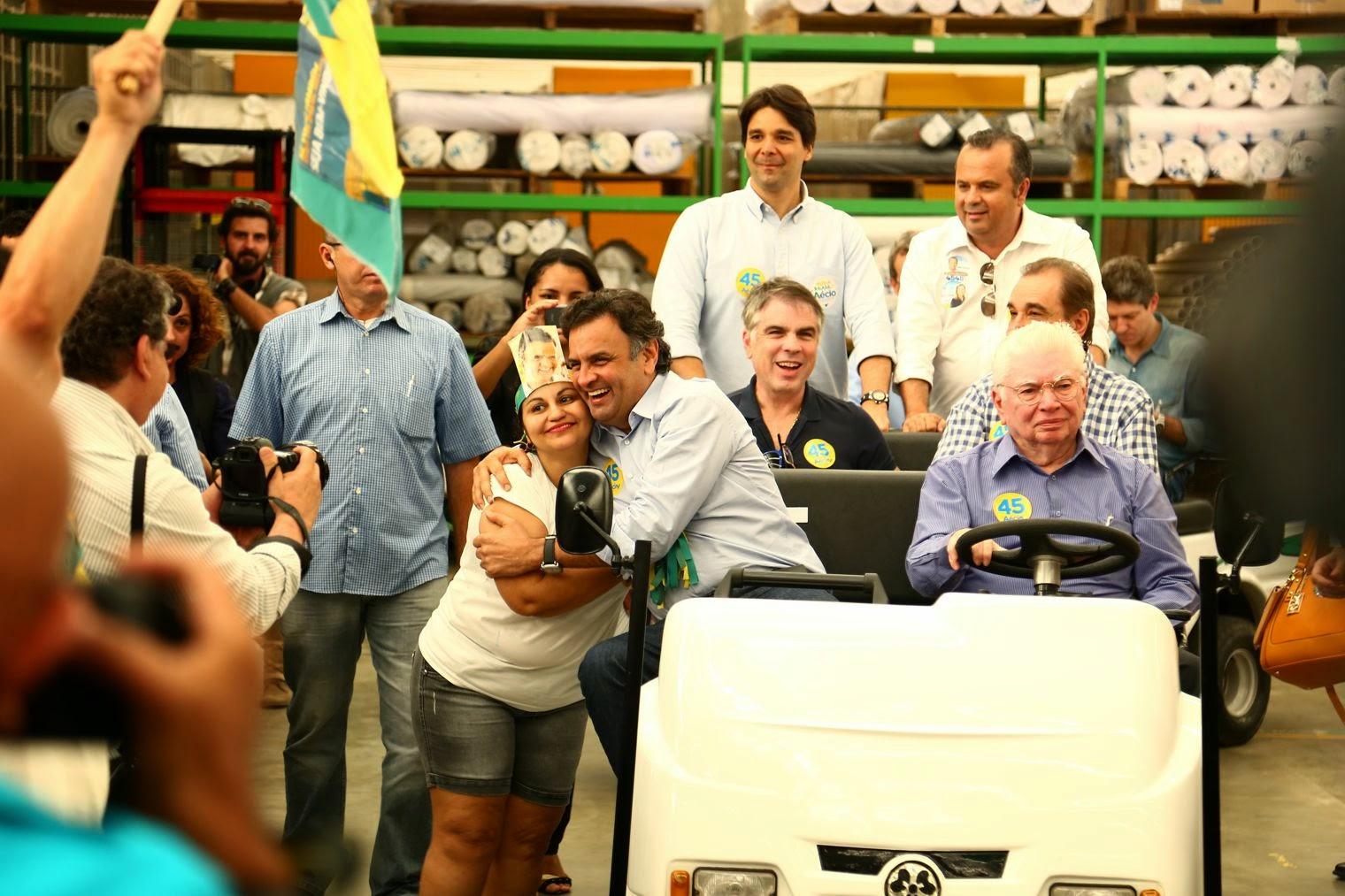 Resultado de imagem para Flávio Rocha com Aécio Neves e Rogério Marinho