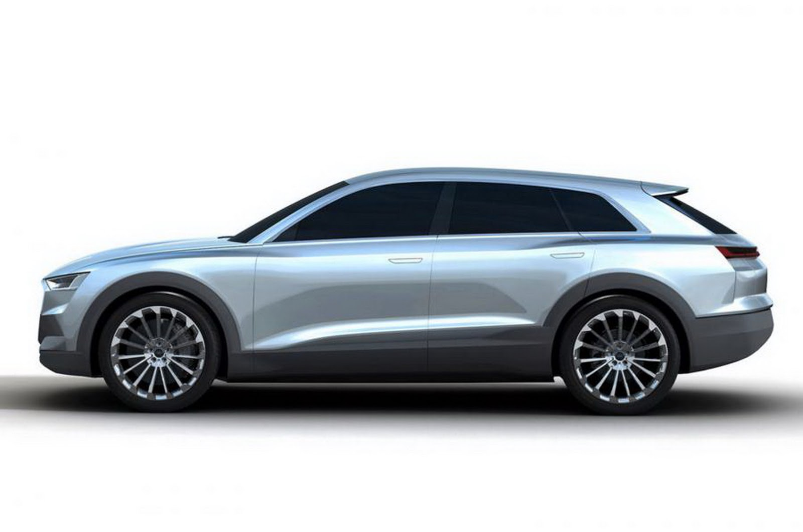 Audi S New C Bev Concept Likely Previews Its Q6 Tesla