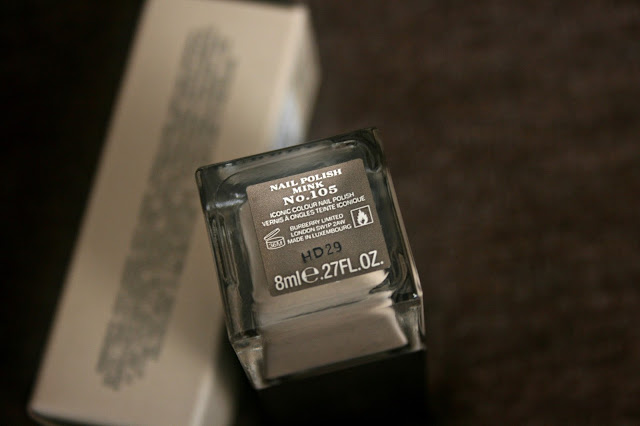 Burberry beauty nail polish in mink No.105 Review