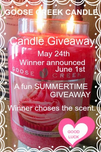 Goose Creek Candle Giveaway