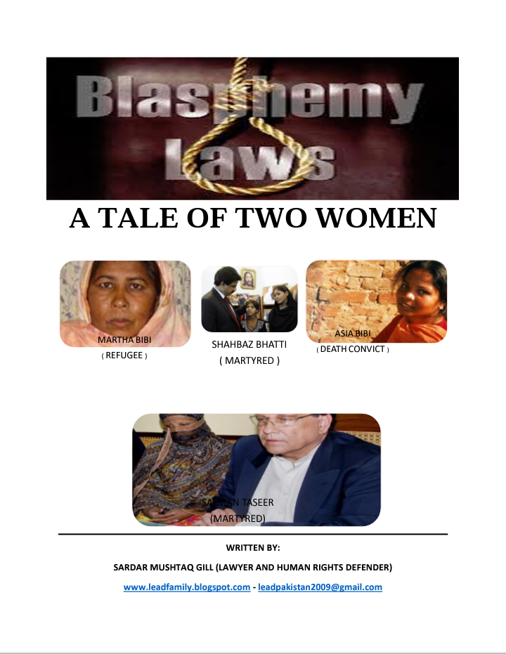 Blasphemy Laws-A Tale of Two Women