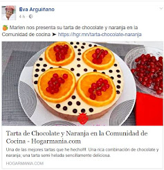Mi Tarta de Chocolate y Naranja Publicada por Eva Arquiñano en su comunidad de cocina Hogarmania