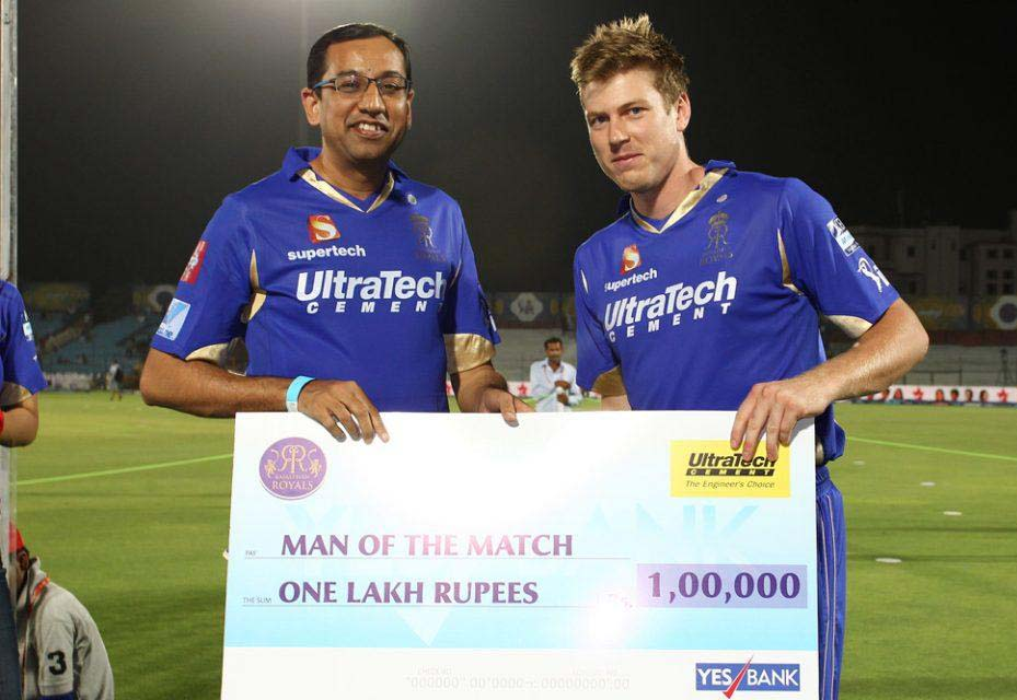 James-Faulkner-Man-of-the-Match-RR-vs-SRH-IPL-2013