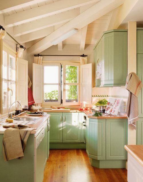 Moois en liefs: Kleurige keukens