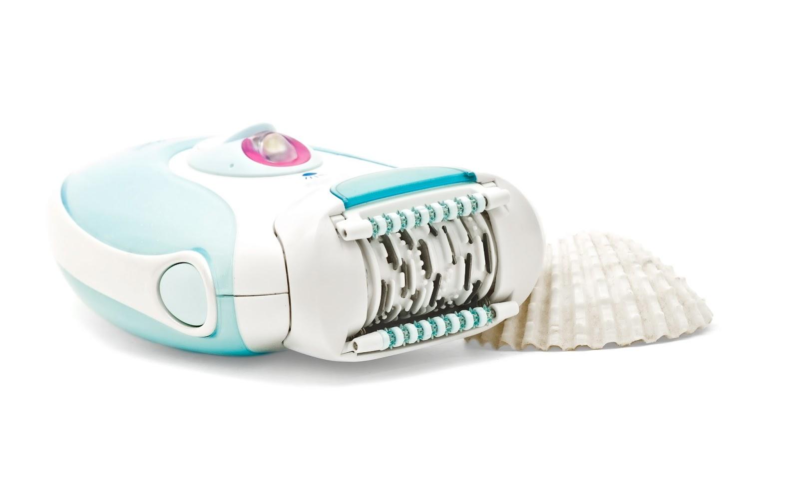 Haarentfernung mit elektrischem Epiliergerät
