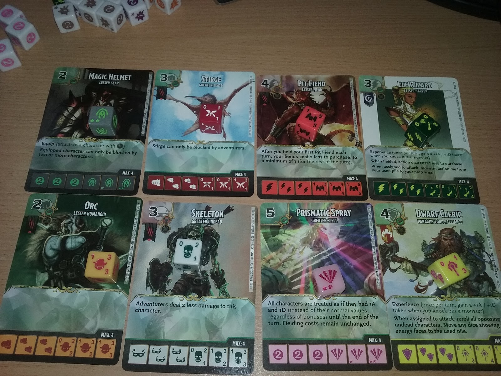 The Garage Gamers Dice Masters Dungeons And Dragons