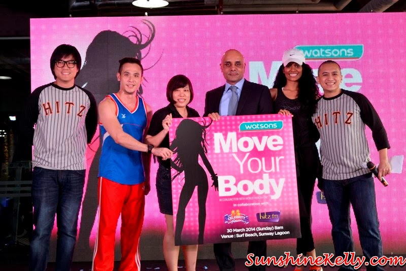 Thanuja Ananthan, Ms Universe Malaysia, hitzfm, Move Your Body, Dance by Celebrity Fitness, exercise, get fit, get healthy