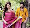 Pranitha Romantic Stills from movie Angaraka - Beautiful Saree Pics