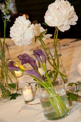 Longfellows Wedding centerpieces
