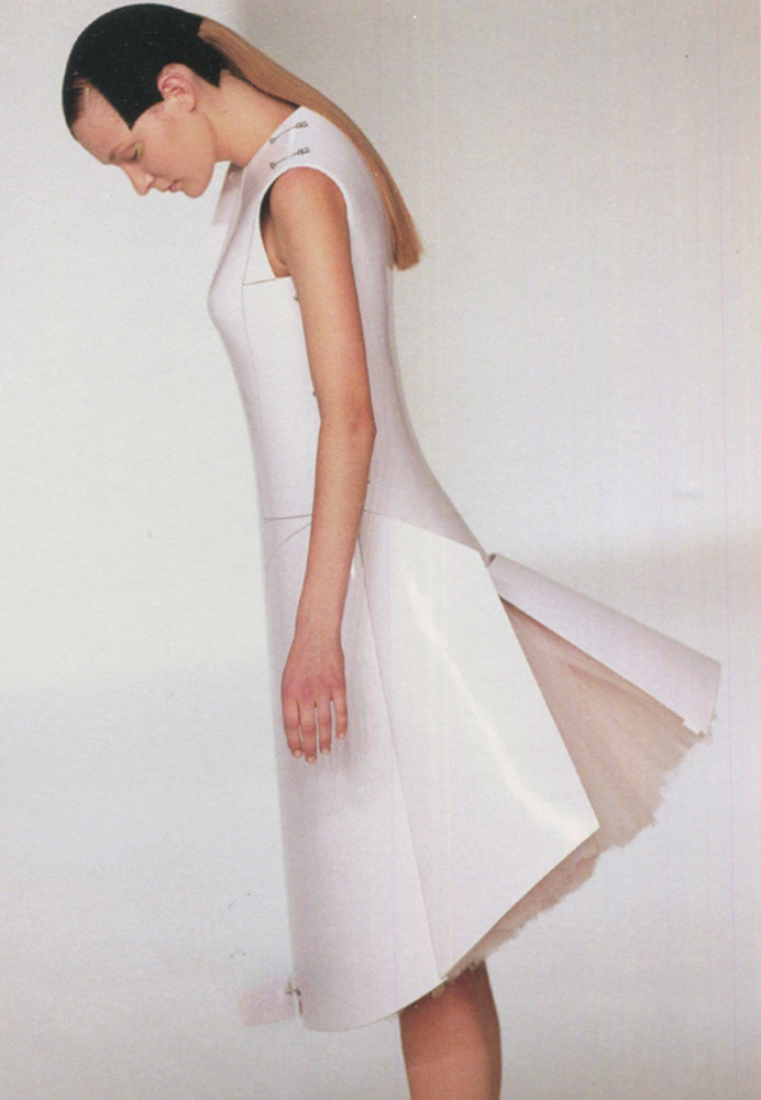 wearable object in fashion one more good one hussein chalayan airplane dress collection echoform 1999 fall winter