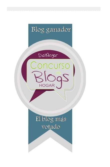 Ganadora Blog por Dialhogar